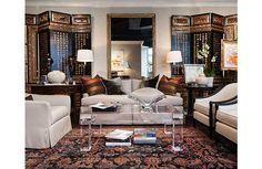 Stan Topol, Reynolds Brown and Cynthia Kirkland of Stan Topol & Associates Decorative Screens, Art Decor, Home Decor, Contemporary Furniture, Interior Design, Atlanta, Room Dividers, Chinoiserie, Warehouse
