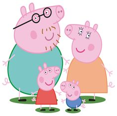 Wholesale Printers,  - Peppa Pig Wall Stickers - Totally Movable and Reusable, $2.00 (http://www.wholesaleprinters.com.au/peppa-pig-wall-stickers-totally-movable-and-reusable/)