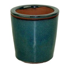 Teal Round Taller Self Watering Planter - Shop Garden Supplies, Read Care Articles, and More! Self Watering Planter, Ceramic Planters, Garden Supplies, Kitchen Ideas, Larger, Teal, Organic, Ceramics, Green