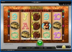 Railroad is a 5-reel, 5 payline, Merkur Gaming non progressive video slot machine with a jackpot. More this way.... http://www.casinocashjourney.com/slots/merkur/railroad.htm