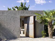 Casa de hormigón en Caviano,© Hannes Henz