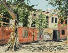 "Saatchi Online Artist Roberta Jennings; Painting, ""Goree Streets #4"" #art"
