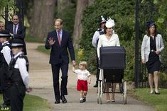 July 5, 2015 - The Duke and Duchess of Cambridge were among the last to arrive at the church