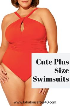 What's new and hot in plus size bathing suits? Here's a look at what's trending for summer. #plussize #swimsuit #summerfashion Cute Plus Size Swimsuits, Pretty Swimsuits, Vacation Wear, Vacation Outfits, Summer Outfits, Fashion Over 40, 50 Fashion, Plus Size Fashion, Old Lady Swimsuit