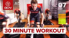 James leads another 30 minute cycling workout, which will get you fit fast. This interval session is perfect for burning fat and building your 30 second max . Hiit Bike, Spin Bike Workouts, Gym Workouts, Chest Workouts, Workout Tips, Cycling Workout, Cycling Tips, Road Cycling, Road Bike