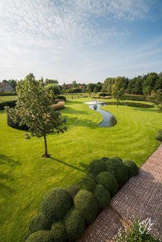 Backyard Fort, Ponds Backyard, Urban Landscape, Landscape Design, Garden Design, Outdoor Pool, Outdoor Gardens, Farm Pond, Garden Swimming Pool