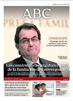 La portada de ABC del 13 de noviembre