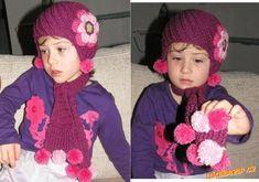 HÁČKOVÁNÍ - Čepice ze šikmých reliefních sloupků + návod na kytičku Crochet Hats, Beanie, Fashion, Moda, La Mode, Fasion, Beanies, Fashion Models, Trendy Fashion