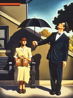 Kenton Nelson, When Skies Fall