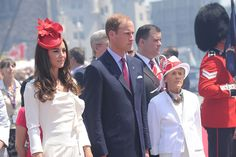 Olive and Jane loves this fascinator! Will & Kate Parliament Hill - Canada day