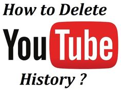 Check the steps you can follow to delete the search history from YouTube.