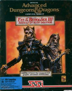 AD&D Forgotten Realms Video Game - Eye of the Beholder III: Assault on Myth Drannor - Front