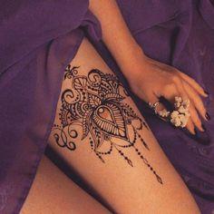Die 112 Besten Bilder Von Tattoo Oberschenkel Tattoo Ideas