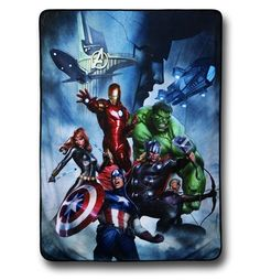 Summon forth epic snuggles with the 45'' by 60'' Avengers Ominous Loki Fleece Throw Blanket! Displaying Black Widow, Captain America, Hawkeye, Incredible Hulk, Iron Man, Loki, a SHIELD Hellicarrier, and Thor the Avengers Ominous Loki Fleece Throw Blanket is made from 100% polyester and is great for staying warm, relaxing, or plugging intergalactic holes opened by the Tesseract. That's how the first Avengers movie ended, right?