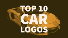 Check out our top 10 car logos and why we like them – looking at the best car company logos and automotive brands for graphic design inspiration. via @inkbotdesign