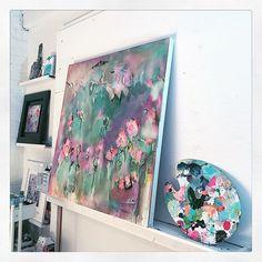 Studio pic... ballerina colour scheme  #michaelanessimart #wip #abmlifeisbeautiful Ballerina, Color Schemes, Whimsical, Watercolor, Colour, Studio, Illustration, Artist, Painting