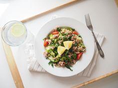 Kuskus s brokolicí a tuňákem