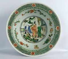 Fine Kangxi Famille Verte Chinese Porcelain Bowl Lot 125 EST Price: USD 3,000 - 5,000 Start Price: USD 1,500 Bowl, The Collector, Tea Pots, Jade, Auction, Tea Pot