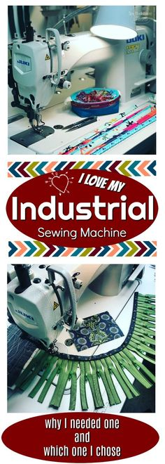 I recently purchased my first Industrial Sewing Machine! I use this in my sewing business and for making bags, using production style sewing. Choosing my machine was a process! Read all about how I chose the machine that I love! Sewing Hacks, Sewing Tutorials, Sewing Tips, Sewing Basics, Sewing Ideas, Fabric Basket Tutorial, Headband Pattern, Love Sewing, Sewing Box
