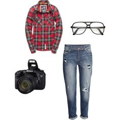 A fashion look from October 2014 featuring red shirt, h&m jeans and square glasses. Browse and shop related looks. Shoe Bag, Polyvore, Stuff To Buy, Shopping, Collection, Design, Women, Fashion, Moda