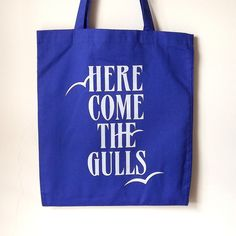 Here come the gulls bag - etsy