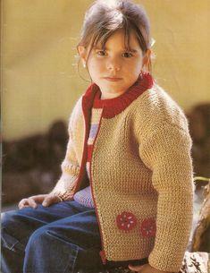Ajuar Del Bebê N° 10-Revista Tricô Para Bebês Baby Knitting Patterns, Turtle Neck, Sweaters, Style, Fashion, Gifs, Knitting And Crocheting, Tricot, Knitting Patterns Baby