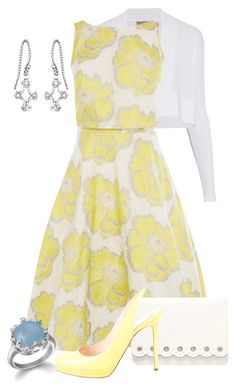 A fashion look from March 2016 featuring beige dress, open front cardigan and yellow shoes. Browse and shop related looks. Classy Outfits, Chic Outfits, Fashion Outfits, Spring Outfits, Women's Fashion, Casual Chic, Classy Women, Work Attire, Modest Dresses