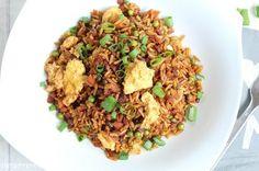 Rezepte mit Herz ♥: Non - Fried Reis mit Gemüse und Ei - All in One