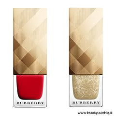 Burberry Make up Festive 2015 Collection Nail polish Burberry Festive Gold