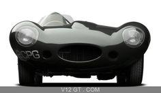Exposition Ralph Lauren - Jaguar Type D vert face avant / Collections / Photos Classic / Les plus belles photos de GT et de Classic. - V12 GT - L'émotion automobile