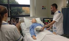 CARE AND COMPASSION CAN BE TAUGHT....University uses augmented reality to train students