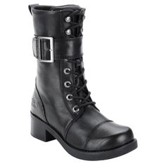 Harley-Davidson Women's Jammie Lace Up Casual Boots