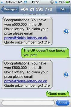 agile text spammer