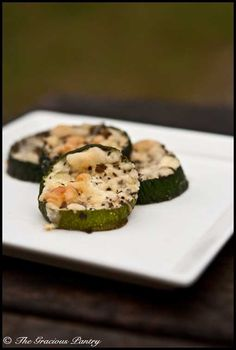 Clean eating baked basil Zucchini