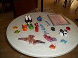 Dekoratif boyama kurslarımıza katılın, ayrıca ürün ve eser satışımız da vardır.