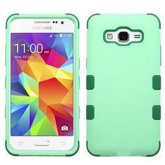 MYBAT TUFF Samsung Galaxy Grand Prime Case - Mint/Forest Green