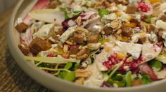 Witloofsalade met blauwe kaas   Dagelijkse kost