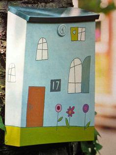 145 meilleures images du tableau boites aux lettres mailbox mail boxes et post box. Black Bedroom Furniture Sets. Home Design Ideas