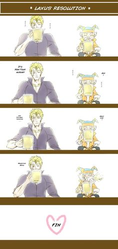 Laxus' New Year Resolution by AUTHOR45