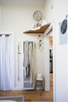 Storage is always at a premium, especially in a small space. And while you can't add closets, what you can add are shelves. If a little extra storage is just the finishing touch your small space needs, consider adding shelves in one of these unexpected places.