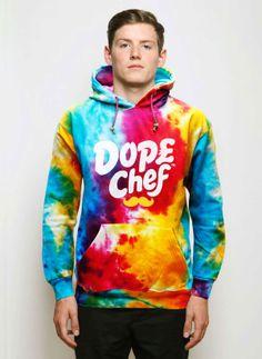 Gotta have this hoodie tie dye hoodie dope chef Tie Dye Sweatshirt,  Cochella, Chefs 771f2d92ac