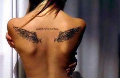 fallen angel wings tattoo wrist - Google Search
