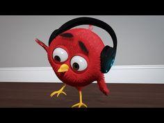 """Bluetooth Headphones"" Bird Animation (Abraham Animations) -  Best sound on Amazon: http://www.amazon.com/dp/B015MQEF2K - http://gadgets.tronnixx.com/uncategorized/bluetooth-headphones-bird-animation-abraham-animations/"