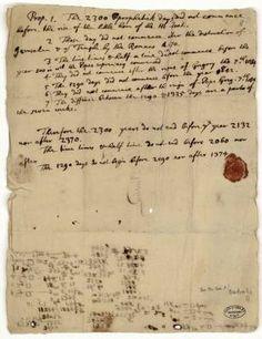 Isaac Newton e la fine del mondo