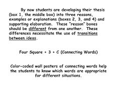 4 square connecting words - Google Search The Words, Four Square Writing, Connecting Words, Thesis, Connection, Student, Google Search, College Students