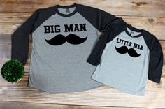 dad and son matching shirts, Daddy son tshirts ,Fathers Day Shirt from Kids, mens raglan shirt, father child t-shirt, family t-shirt set