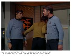 19 TV Shows Summed Up In One Picture because honestly that's it, that's the show. #StarTrek