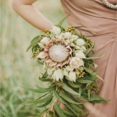 A beautiful Earth toned wedding inspiration board inspired by red dirt. (image via Polka Dot Bride)