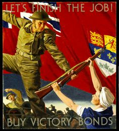World War 2 Poster (Canadian) Canadian Culture, Canadian Army, Canadian History, British Army, Ww2 Propaganda Posters, Poster Ads, Retro Posters, Vintage Posters, Canada