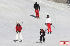 HELLO! world exclusive: William and Kate are reunited on the slopes - Photo 1
